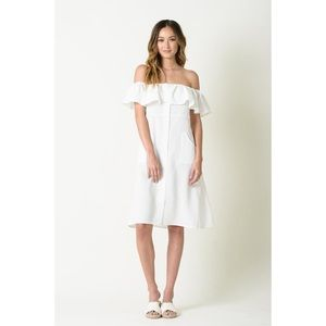 NWT Lucca Couture Off the Shoulder Dress